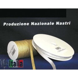 NASTRO LAME' SATIN h.40mm X 25mt.